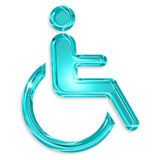 Disability symbol Stock Photo