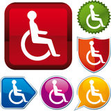 Disable icon Royalty Free Stock Image