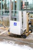 Disable lift Stock Photo