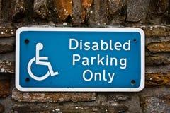 Disable Parking Stock Photos