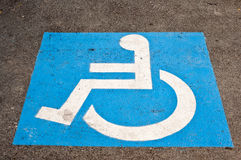 Disable sign Stock Photography