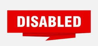 disabled illustrazione di stock
