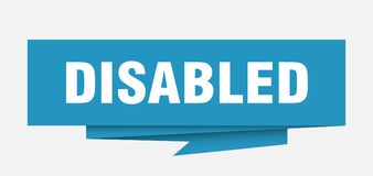 disabled royalty illustrazione gratis