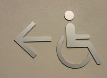 Disabled Royalty Free Stock Photo
