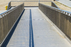 Disabled access ramp Royalty Free Stock Image