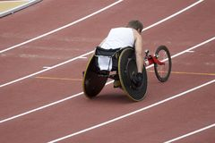 Disabled Athlete royalty free stock photos