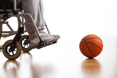 Disabled athlete Royalty Free Stock Image