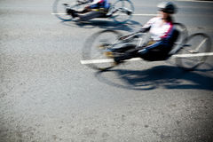 Disabled athletes Stock Photos
