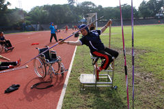 Disabled athletes Royalty Free Stock Photo