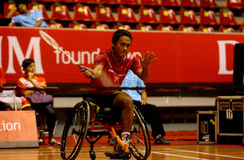 Disabled athletes Stock Photography