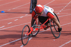 Disabled athletes Stock Images