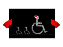 Disabled banner Royalty Free Stock Image