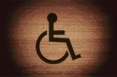 disabled Bottone e spazio moderni piani di web per royalty illustrazione gratis