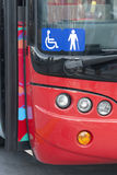 Disabled bus Royalty Free Stock Photography