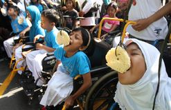 Disabled day Stock Images