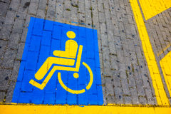 Disabled only Stock Photo
