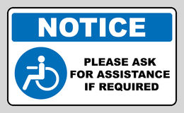 Disabled Handicap Icon Royalty Free Stock Images