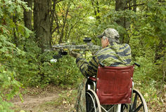 Disabled hunter Stock Photos