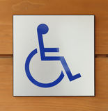 Disabled icon sign Stock Image