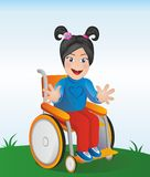 Disabled kid Royalty Free Stock Photo