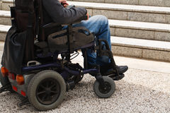 Disabled male Royalty Free Stock Image