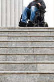 Disabled male royalty free stock photos