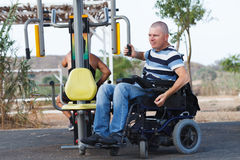 Disabled Male Stock Photography