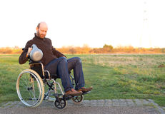 Disabled man Royalty Free Stock Photo
