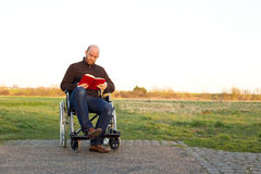 Disabled man Royalty Free Stock Image