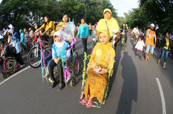 Disabled parade Stock Images