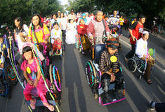 Disabled parade Stock Photography