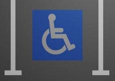 Disabled Parking Lot Stock Photos