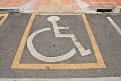 Disabled Parking Permit Stock Photos