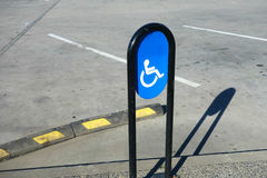 Disabled Parking Royalty Free Stock Photography
