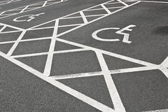 Disabled Parking Space Stock Images