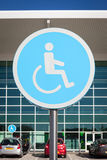 Disabled parking. Stock Photography