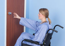 Disabled person stock photography