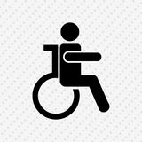 disabled person  design Stock Images