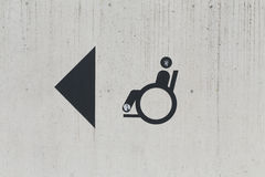 Disabled Person Sign Stock Photos