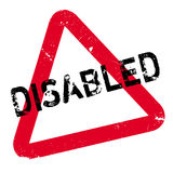 Disabled rubber stamp Royalty Free Stock Photography
