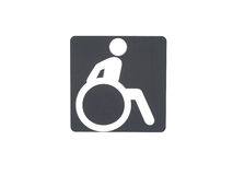 Disabled service sign Royalty Free Stock Photo