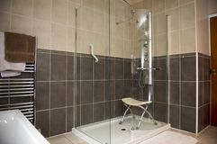 Disabled shower unit Stock Images