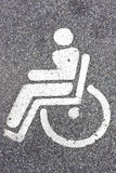 Disabled sign Royalty Free Stock Photography