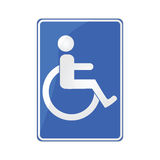 Disabled sign 2 Stock Image