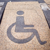 Disabled sign Royalty Free Stock Photo