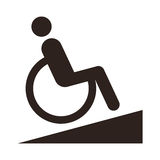 Disabled sign - Facilities for disabled Stock Images