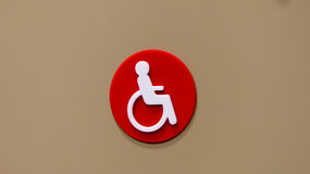 Disable sign Royalty Free Stock Photography
