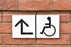 Disabled sign Stock Photos