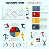 Disabled Sports Infographics Stock Photo