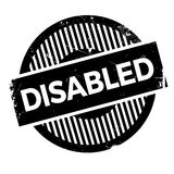 Disabled stamp rubber grunge Royalty Free Stock Image
